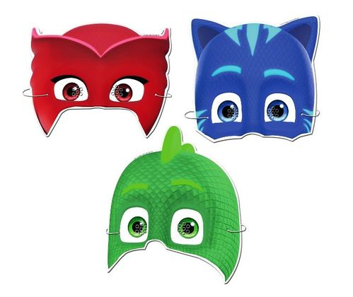 Careta Pj Masks C/6