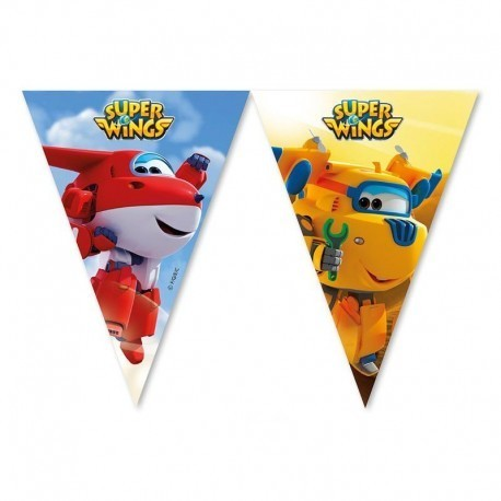 Bandeira Triangular Super Wings