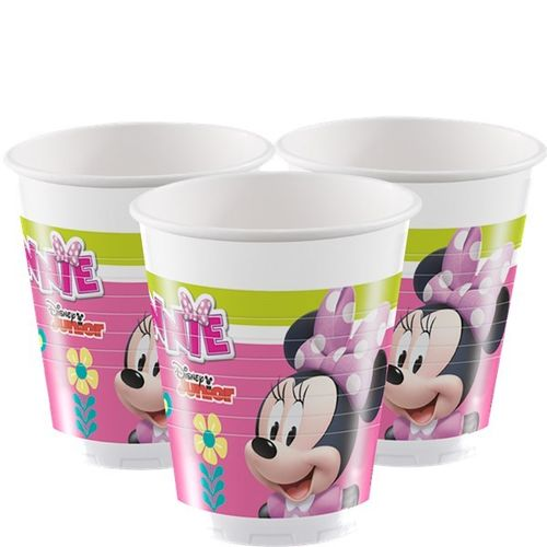 Copos 200ml Minnie Happy Helpers c/8
