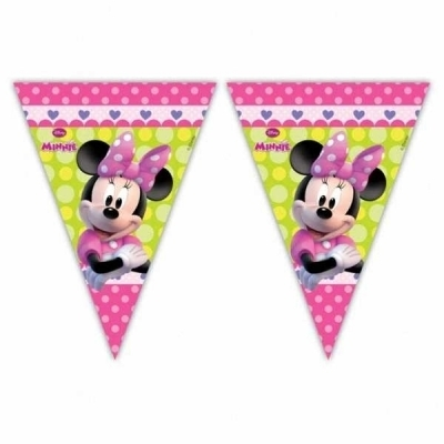 Bandeiras Triangulares Minnie Bow Tique