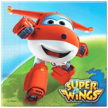Guardanapos Super Wings c/20